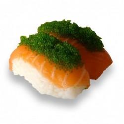 Sushi Saumon Tobikko Wasabi...