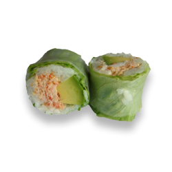 Spring Roll Crabe Avocat...