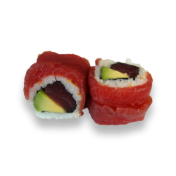 Rainbow Roll Tuna Roll 1 (8...