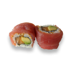 Rainbow Roll Tuna Roll 2 (8...