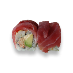 Rainbow Roll Tuna Roll 3 (8...