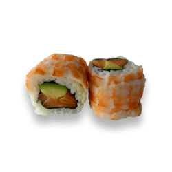 Rainbow Roll Shrimp Roll (8...