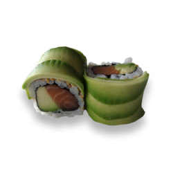 Rainbow Roll Avocado Roll 1...