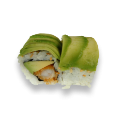Rainbow Roll Avocado Roll 2...