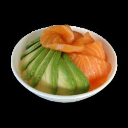 Chirashi Saumon Avocat (1 bol)